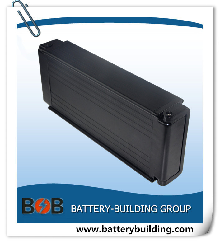 36V 20ah Rear Rack Type Lithium Battery Pack for E-Bike