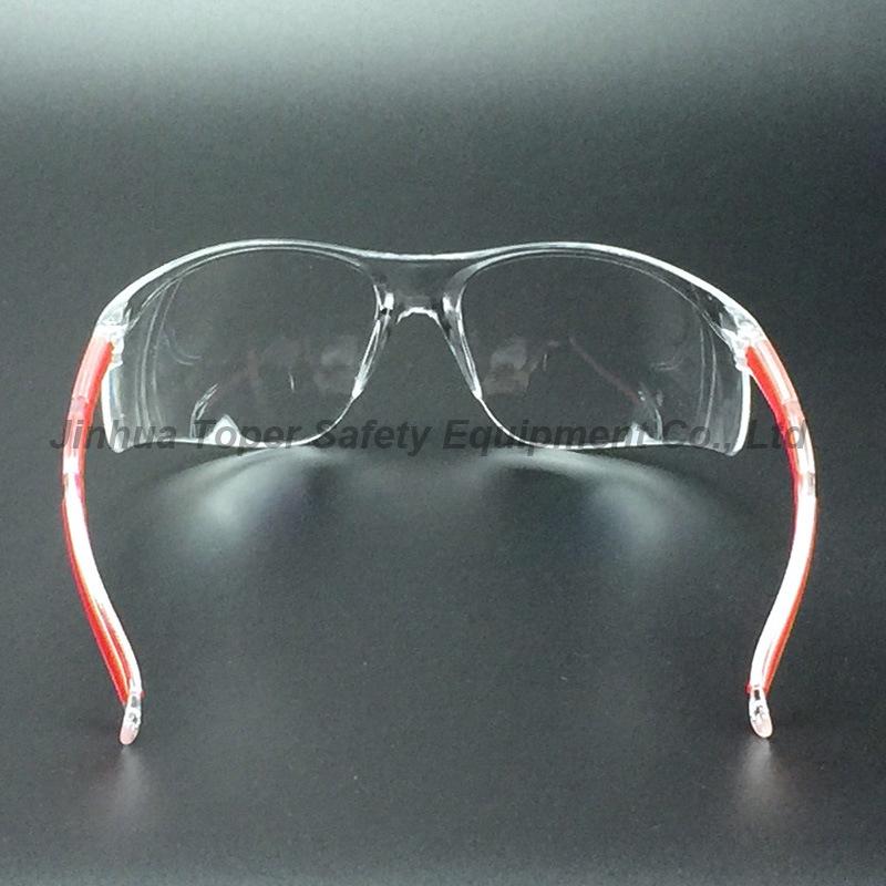ANSI Z87.1 Wide Protection PC Lens Safety Glasses (SG123)