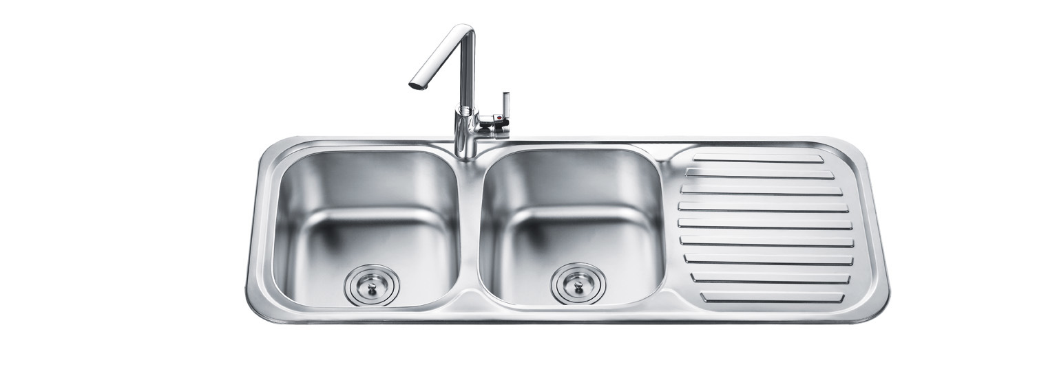 Kitchen Sink Double : Double Bowl Kitchen Sink (OD-12048A) - China Stainless Steel Kitchen ...