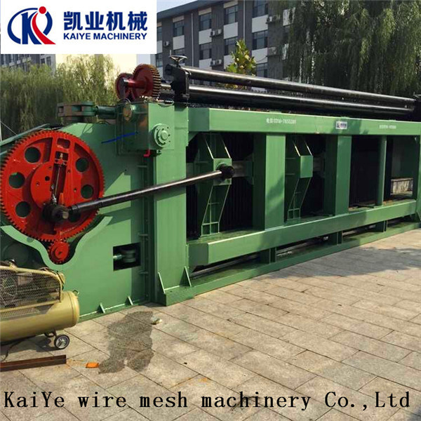 Wire Mesh Width 5 Meters Gabion Mesh Machine