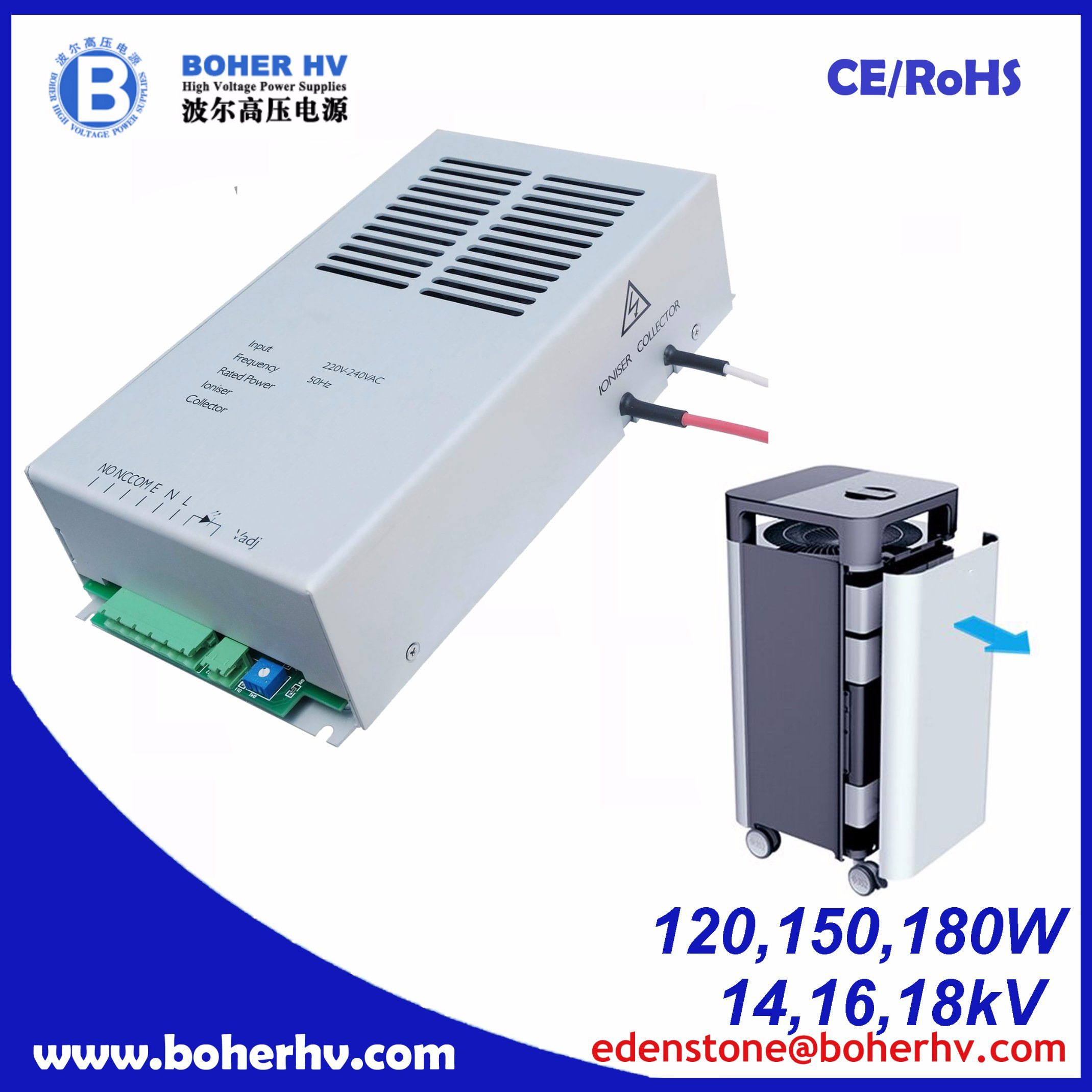 High Voltage Air Purifier 100W Power Supply CF04B