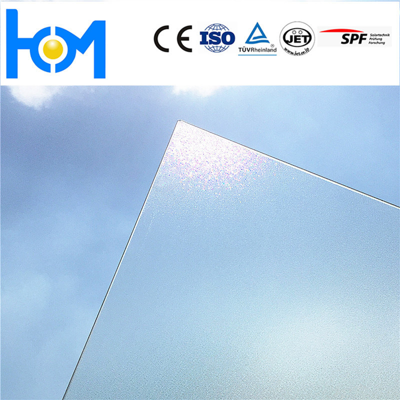 Anti-Reflection Coating Toughened Safety Glass Solar Glass Manufacturer