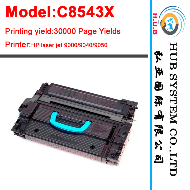 Toner Cartridge for HP C8543X for HP Laserjet 9000/9040/9050