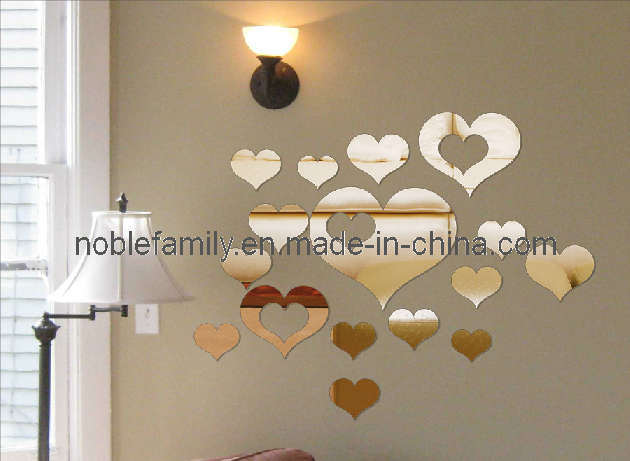 Loved Wall Mirror Stickers (FA-023)