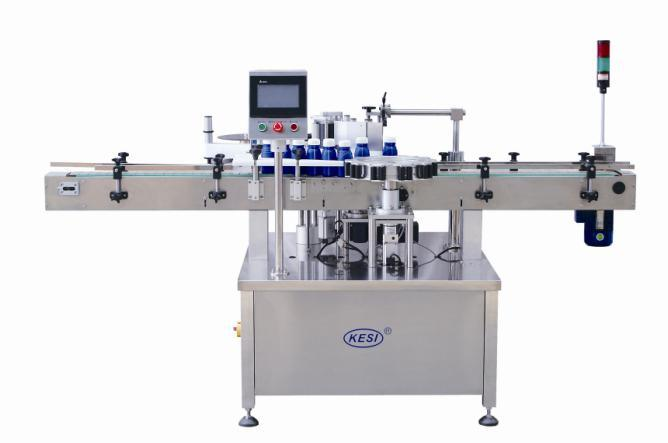 Dwtb90/160 Full Automatic Round Bottle Position / Orientation Labeling Machine
