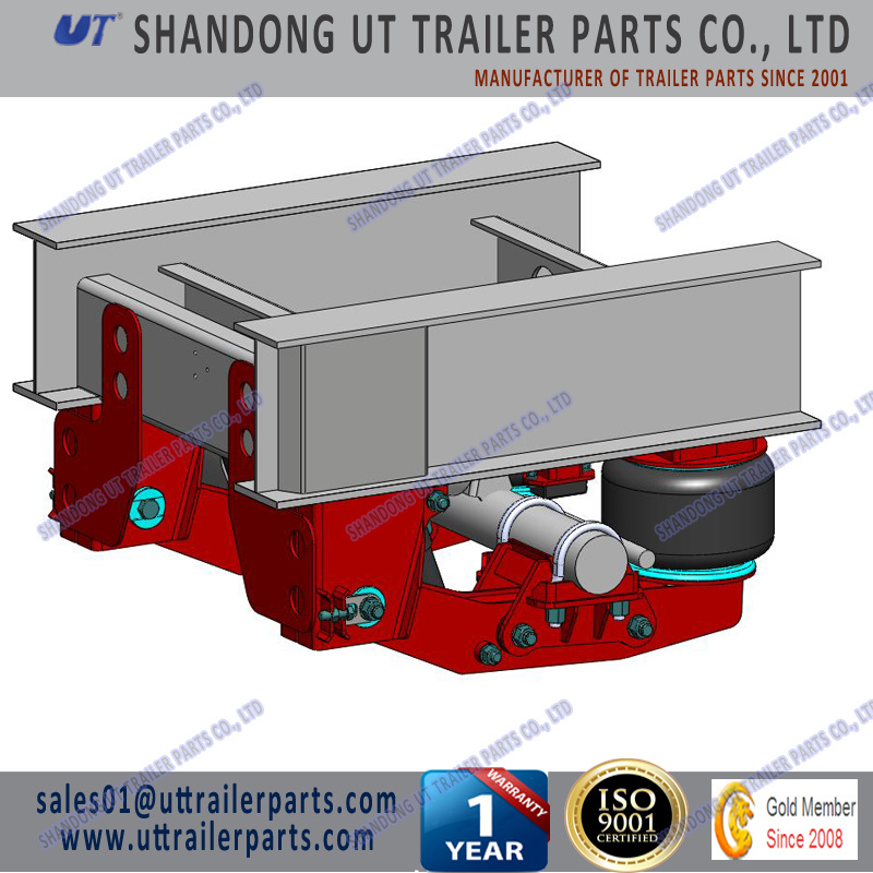 12 Tons Air Suspension for 120mm and 150mm Square Axle Beam for Trailer and Truck