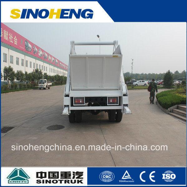 China Sinotruk Small Garbage Truck Skip Loader