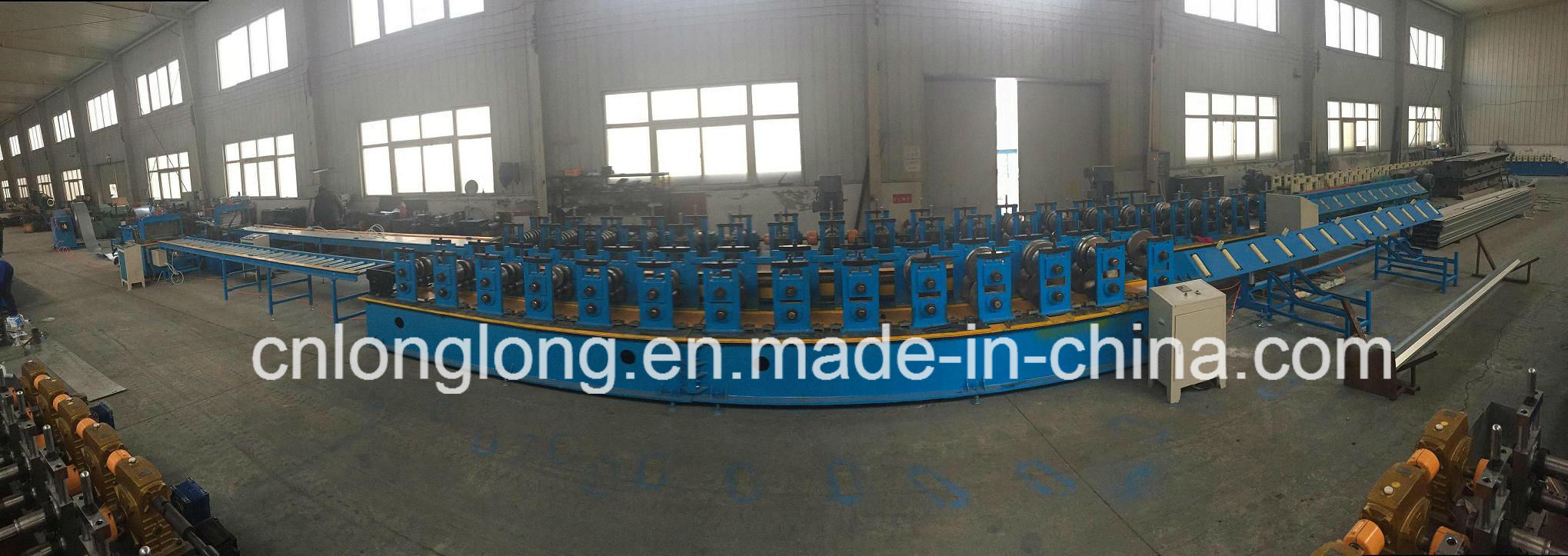 High Accuracy and High Speed Greenhouse Gutter Roll Forming Machine for Long Life Warranty