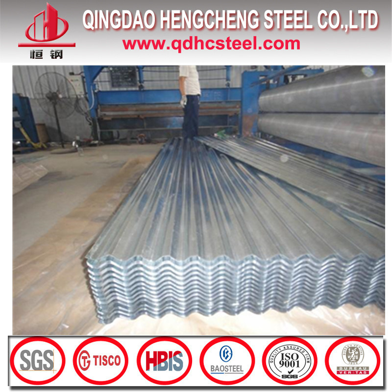 Aluzinc Galvalume Steel Corrugated Roof Tiles