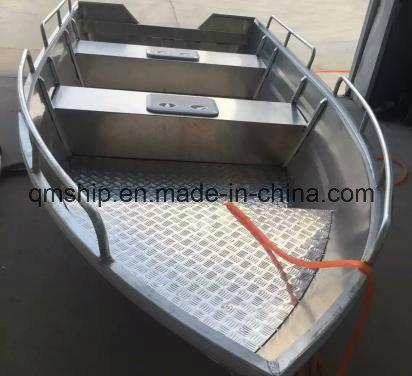 13.8FT 4.2m Open Top Aluminium Power Boat Qm420