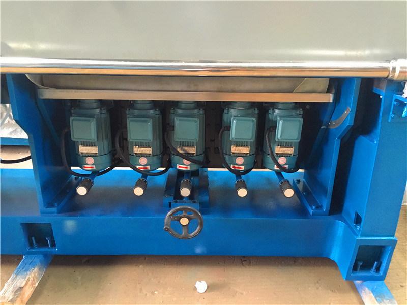 0-45 Degree 9 Motor Glass Multi Stage Edge Polishing Machine.
