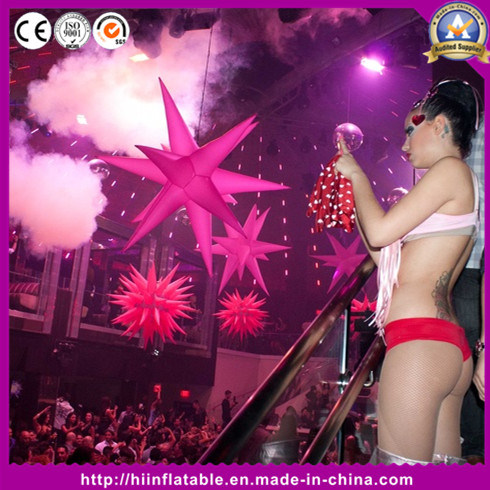 Best LED Twinke Inflatable Star for Wedding Event Club Decoration
