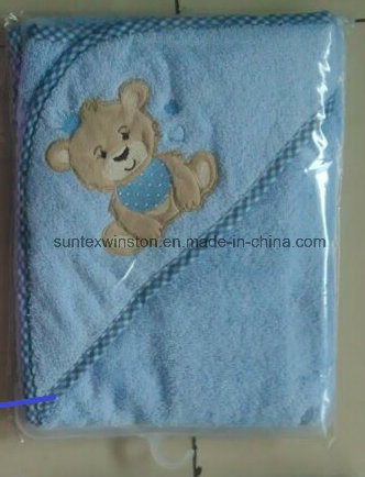 100% Cotton Terry Baby Hooded Towels