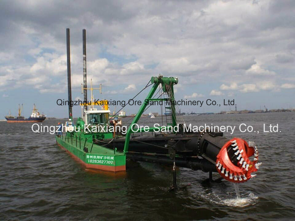 ISO9001 18 Inches Hydraulic Cutter Suction Dredger