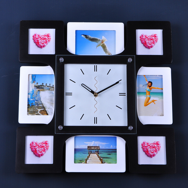 photo frame wall clock gtm1102 china wall clock photo
