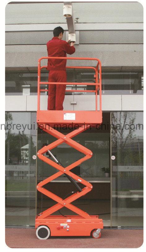 Full Electric Scissor-Type Aerial Working Platform