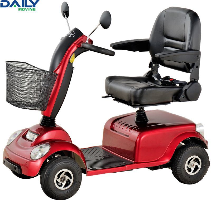 Four Wheels Middle Size Mobility Scooter for Indoor or Outdoor Using with Ce En12184: 2009