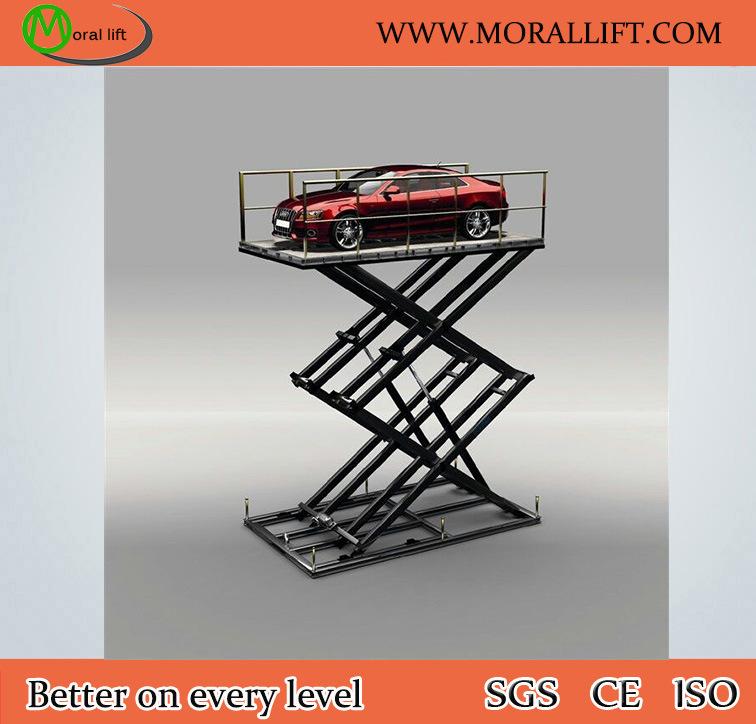 Parking Equipment Hydraulic Scissor Car Lift