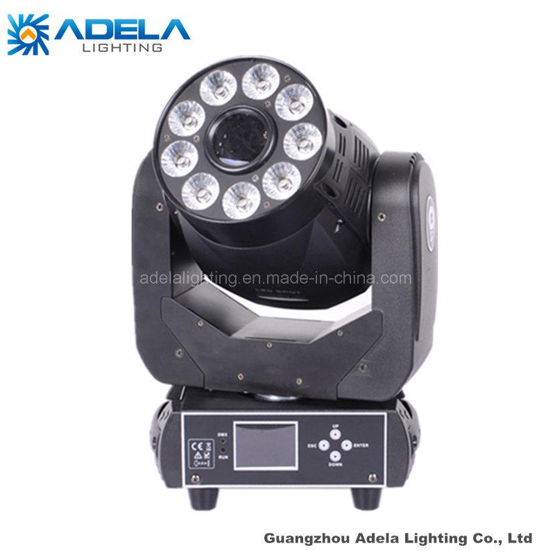 75W Spot 9X12W 6in1 Wash LED Moving Head Light