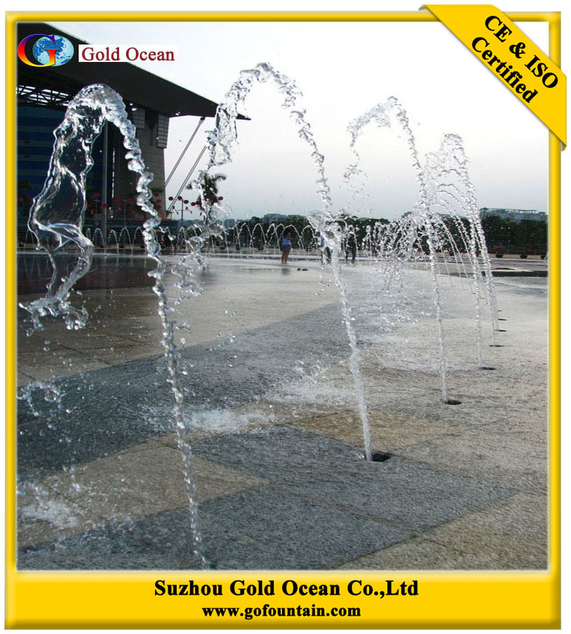 Water Jet Fountain Nozzles