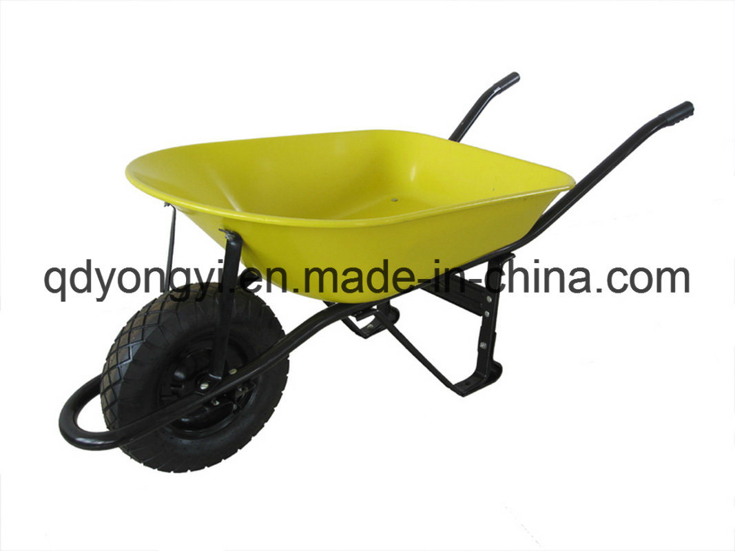 Heavey Duty Wheelbarrow for South America Market Wb8000g- Peru