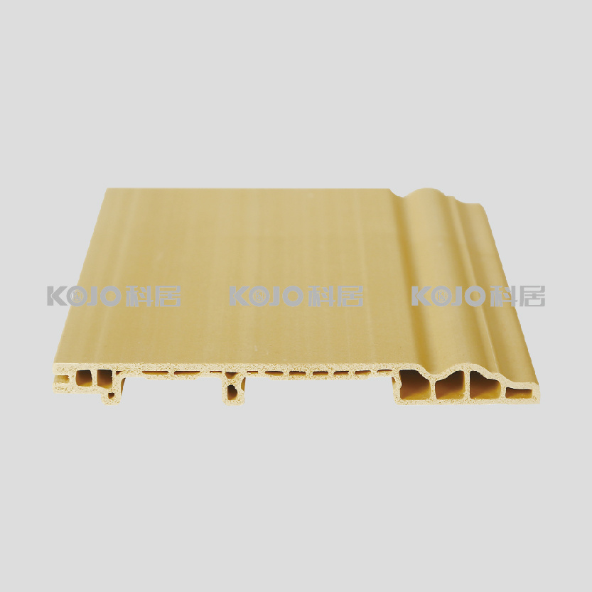 Wood Plastic Composite WPC No Formaldehyde Skirting Board (PT-150)