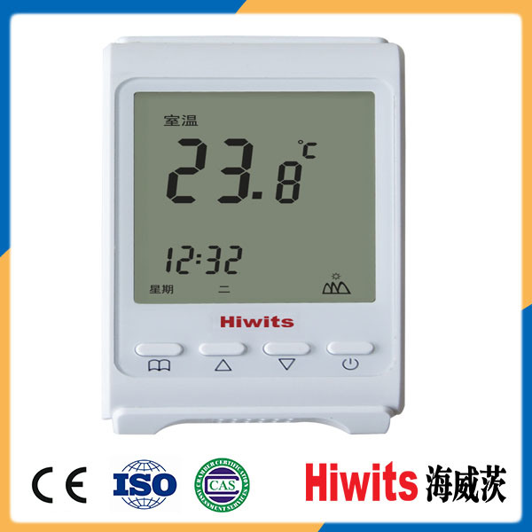 Hiwits LCD Touch-Tone Digital GSM Room Thermostat with Best Quality