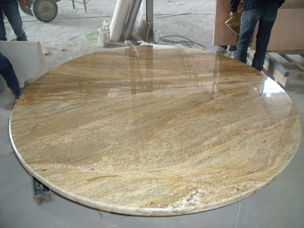 Imported Gold Granite Round Table Tops