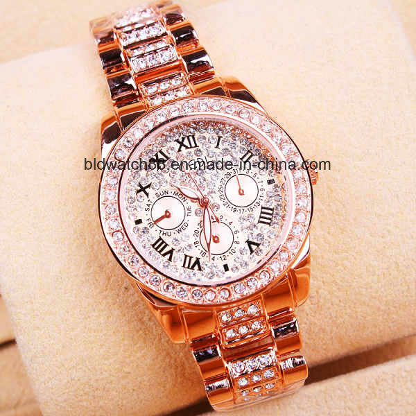 2017 New Ladies Fashion Dress Watch for Gift Promotion