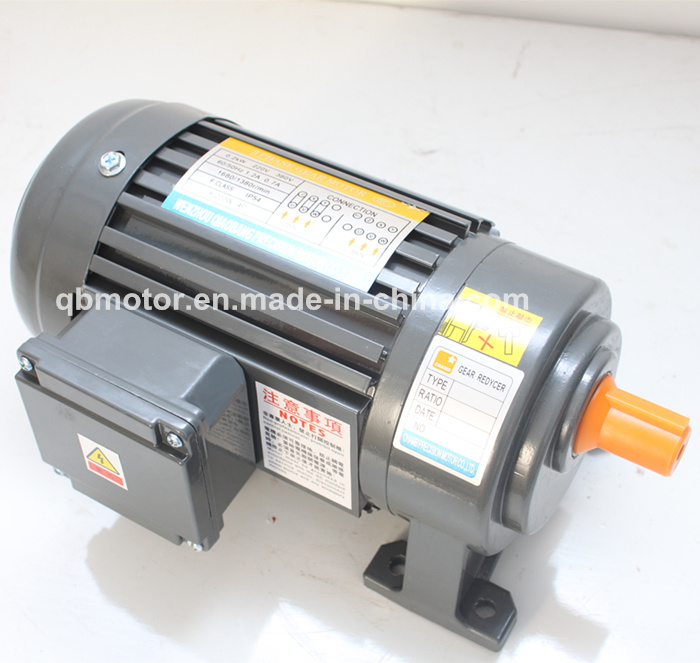 1/2HP 3-Phase Light Duty Gear Reducer Small Geared Motor