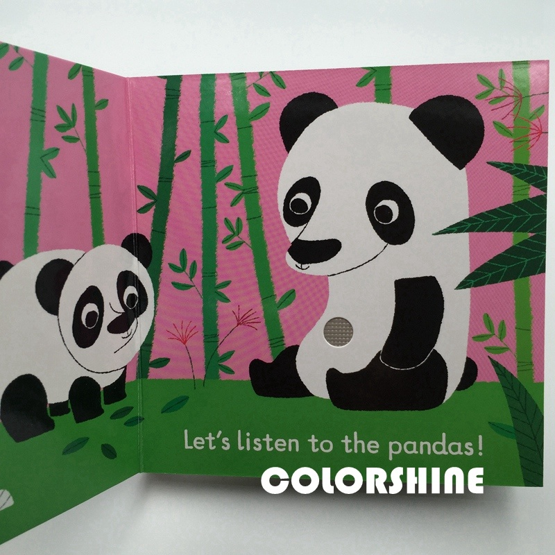 Hi Quality Child Sound Speaking Printing Board Book