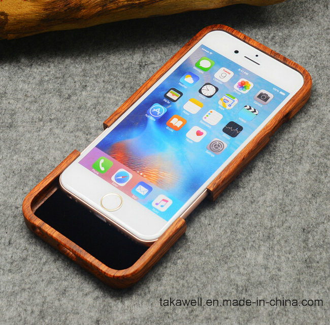 High-End Luxury Laser Engrave Custom Real Wood Cell Phone Case for iPhone 5s/Se/6/6s Mobile Phone Cover Case