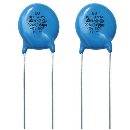 Safety Capacitor Dcf X1y1 400vc/250VAC