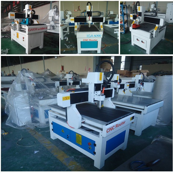 Mini Engraving Machine 6090 4 Axis CNC Router