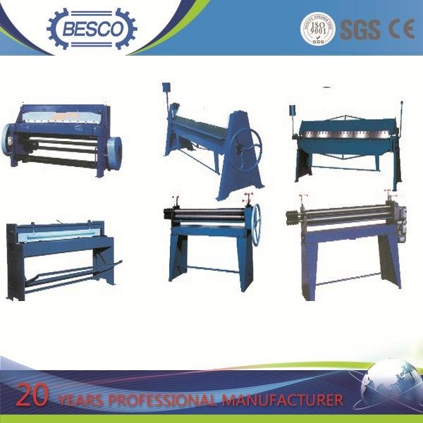 Manual Folding Machine, Manual Bending Machine, Manual Shearing Machine