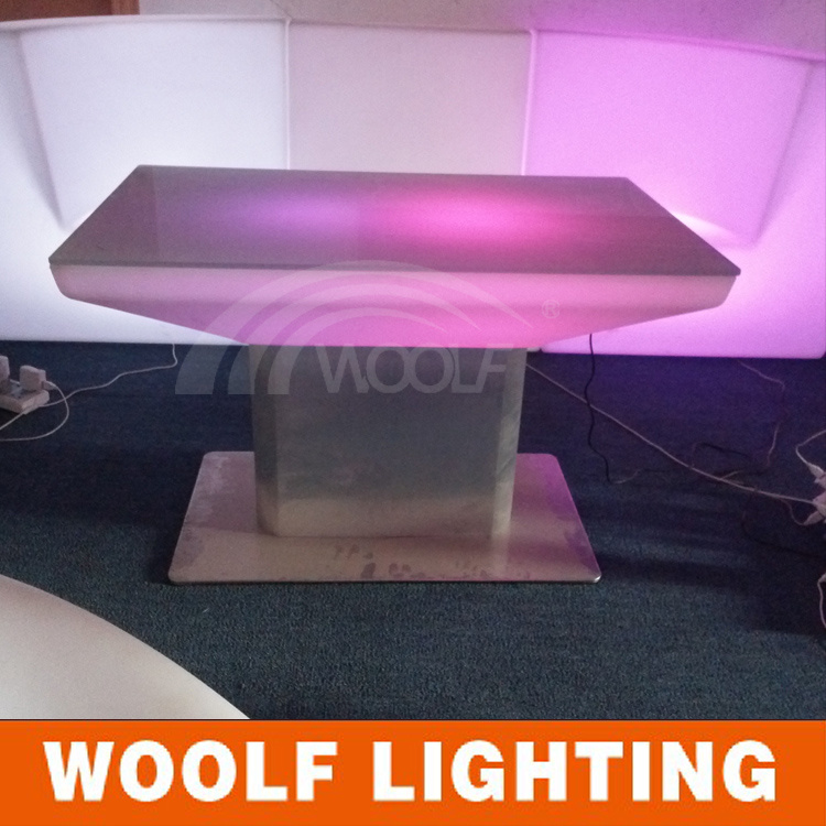 LED Dining Room Light up Coffee Table