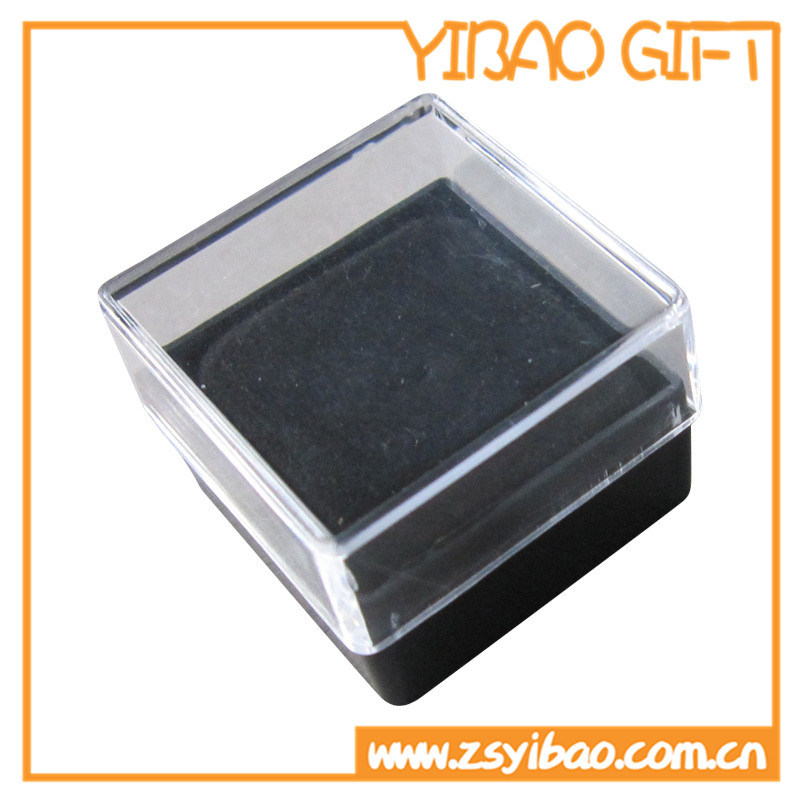 Packing Transparent Plastic Jewelry Box for Pin Gifts (YB-PB-03)