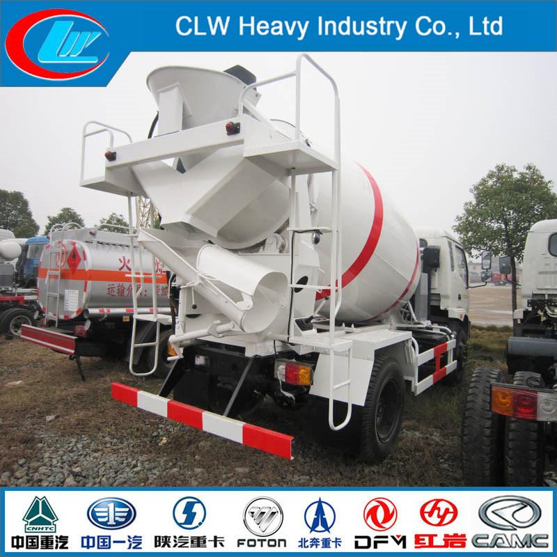 4cbm 6 Wheels Concrete Mixer Concrete Truck for Sale