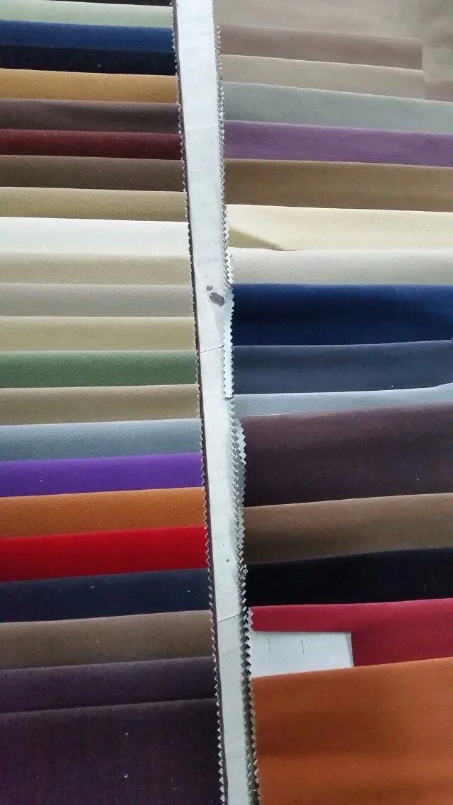 Flocked Fabric Single Flock Fabric Waterproof Fabric (S05)