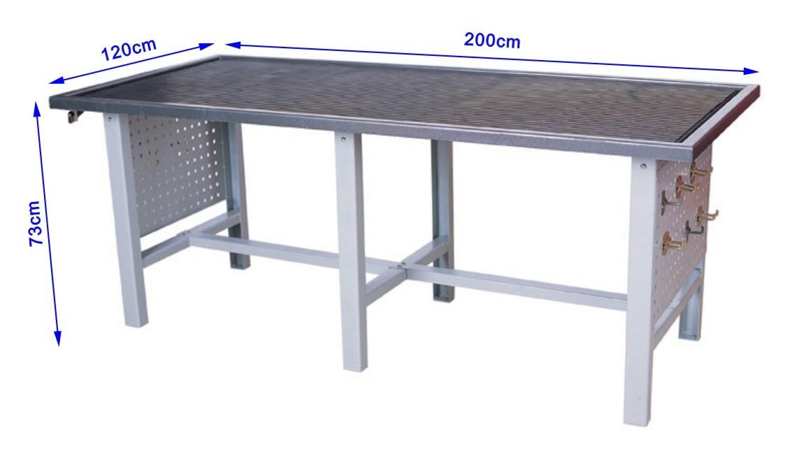 Mi casa decoracion mesa de trabajo taller mecanico electrico for Mesas de trabajo para taller