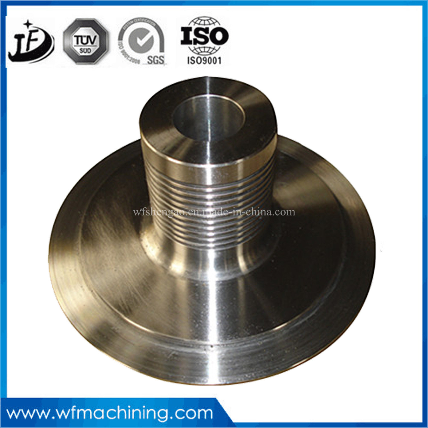 CNC Machining Stainless Steel/Aluminum/Steel Parts/CNC Turning Parts of CNC Bicycle Spare Parts