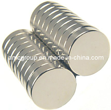 N50 NdFeB Magnet Disc in Amc From China
