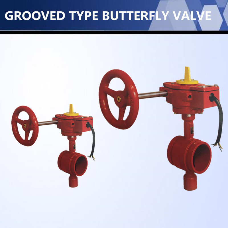 High Quality Flange Butterfly Valve for Water Flow Control
