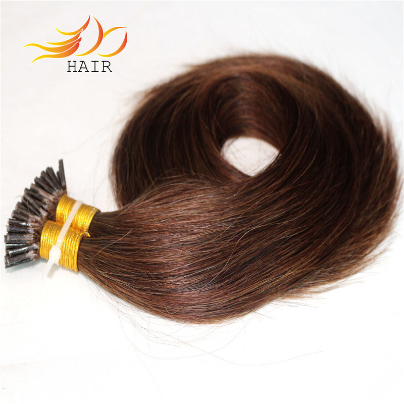 I-Tip Prebonded Human Hair Extension Real Remy Brazilian Hair
