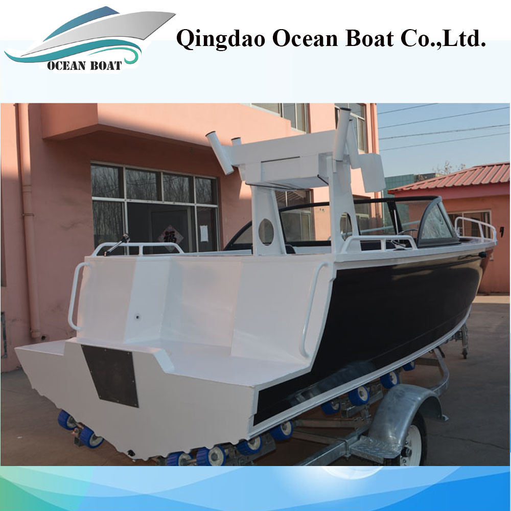 Australia 5m Bowrider Welded Aluminum Fishing Boat with Ce
