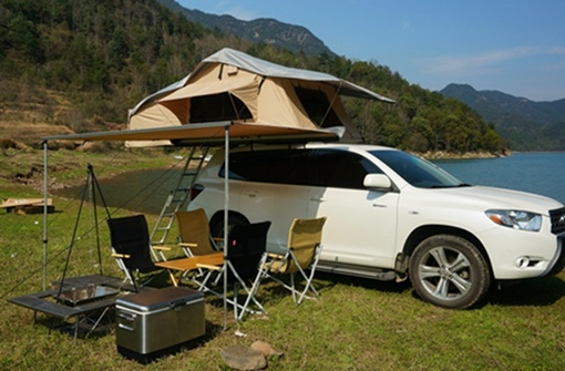 China Deluxe Car Roof Top Tent Suv Auto Roof Top Tent China Car