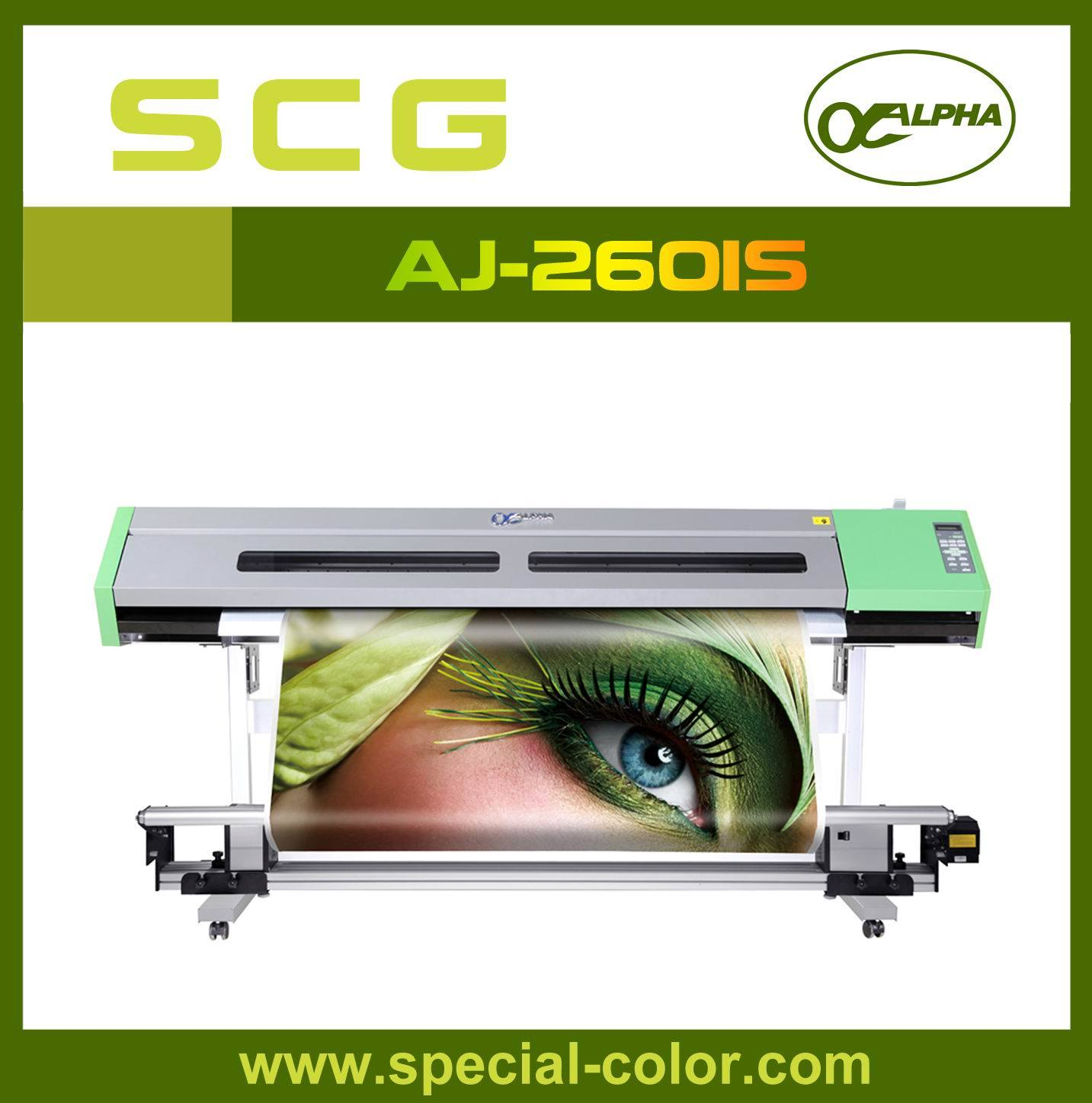 Solvent Continuous Inkjet Printer Aj-2601 (S) with Double Head