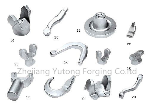 Steel Forging Auto Parts Custom-Made Forged Parts for The-Benz-Bus-Hub-Wheel 2
