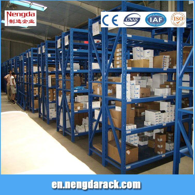 Middle Duty Racking Warehouse Shelving for storage Equipments
