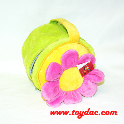 Plush Flower Bag for Kids